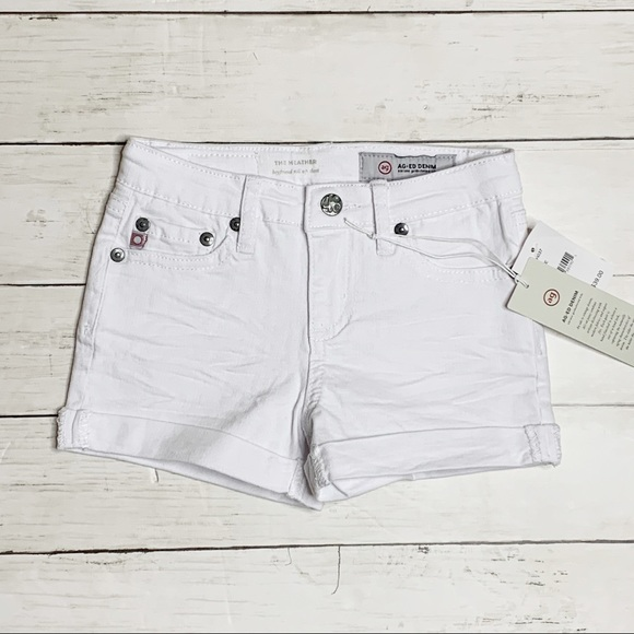 AG Adriano Goldschmied Girls The Heather Short